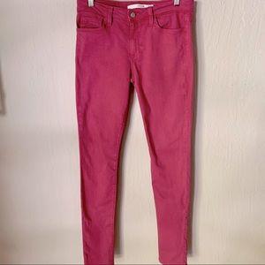 JOE'S JEANS The Skinny Pink PFD Jeans 29
